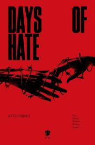 Days of Hate: Atto primo, copertina di Danijel Žeželj