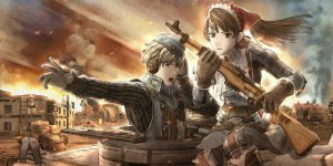 Valkyria Chronicles banner
