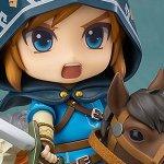The Legend of Zelda: Breath of the Wild, prenotabili le Nendoroid di un Guardiano e di Link in due versioni