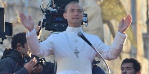 The Young Pope, Jude Law in Piazza san Marco a Venezia!