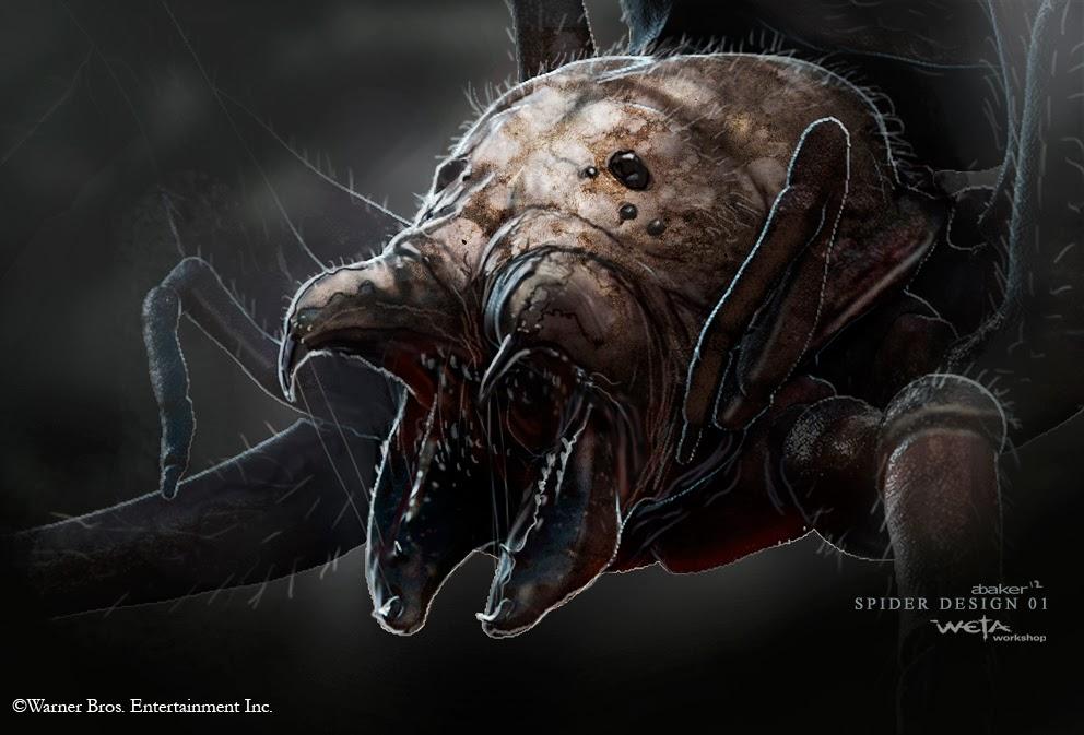 Lo Hobbit: la Desolazione di Smaug, concept alternativi per i ragni, Beorn e Smaug!