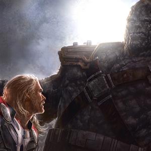 Thor: the Dark World, gli splendidi concept Andy Park