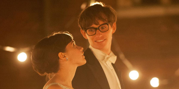 Eddie Redmayne The Theory of Everything banner