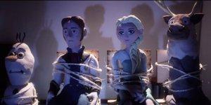 Frozen incontra La Cosa di John Carpenter in un terrificante video in stop-motion