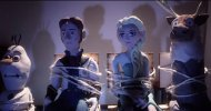 Frozen incontra La Cosa di John Carpenter in un terrificante video in stop-motion