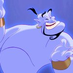 Aladdin: una suggestiva fan art immagina Robin Williams nei panni del genio in versione live-action