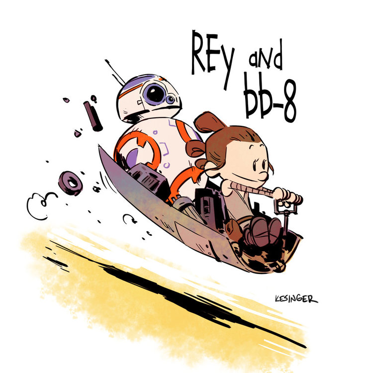 star-wars-the-force-awakens-gets-calvin-hobbes-style-mashup-art-series