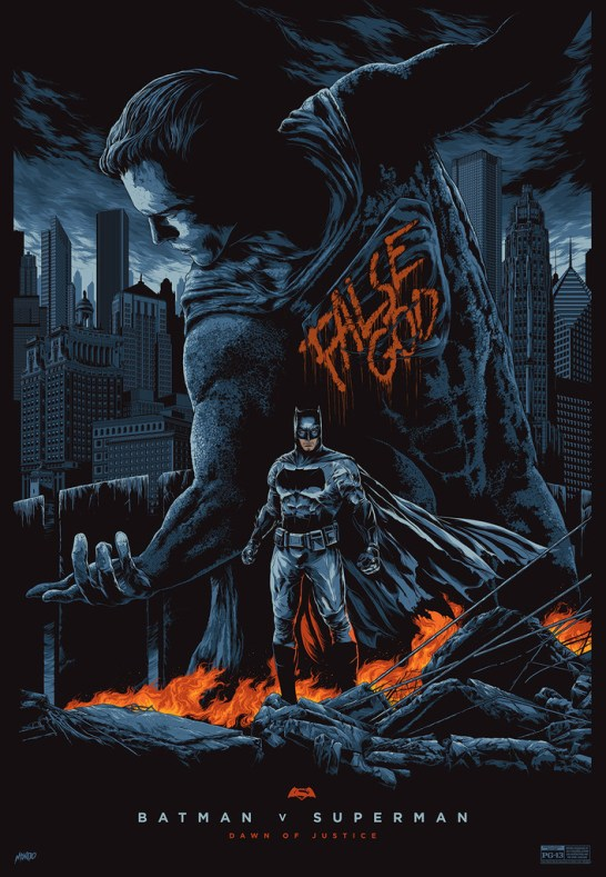 Ken Taylor Batman V Superman Mondo