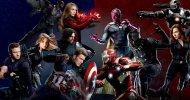 Captain America: Civil War, il Team Cap vs il Team Iron Man nelle cover di Entertainment Weekly!