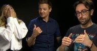 EXCL – Jeremy Renner e Elizabeth Olsen ci parlano di Captain America: Civil War e del Renner Stretch!