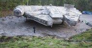 Star Wars – Episodio VIII: Una valanga di foto del Millennium Falcon, video e indiscrezioni dal set!