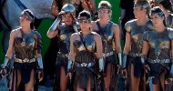 Wonder Woman: Samantha Jo insieme ad altre amazzoni nelle nuove foto dal set