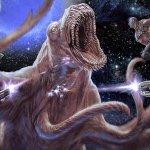 Guardiani della Galassia Vol. 2: i protagonisti contro una creatura spaziale in un nuovo concept
