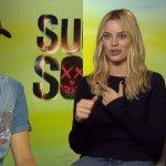 EXCL – Suicide Squad, Margot Robbie e Jay Hernandez ci parlano di Harley Quinn e Diablo!