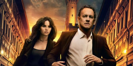 Inferno banner met Tom Hanks & Felicity Jones