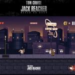 Jack Reacher: Never Stop Punching, Tom Cruise a 8-bit nel web game di Jack Reacher: Punto di Non Ritorno