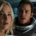 Passengers: Jennifer Lawrence, Chris Pratt e Michael Sheen in tre nuove immagini