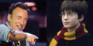 Bruce Springsteen Harry Potter