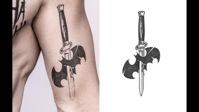 Super Suicide Squad: uno sguardo dettagliato ai tatuaggi del Joker  QU56