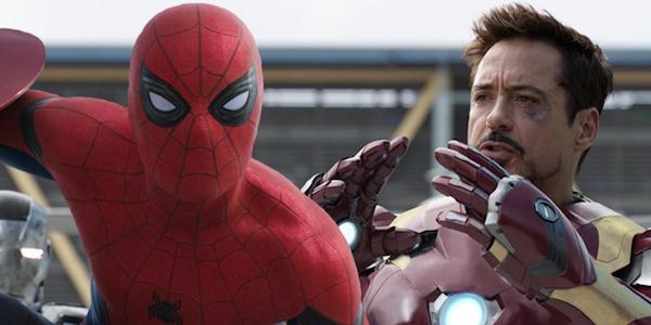 Iron Man Spider-Man Captain America Civil War