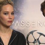 EXCL – Passengers, Jennifer Lawrence e Chris Pratt ci parlano del film!