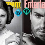 Entertainment Weekly dedica due copertine a Carrie Fisher e George Michael