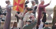 Robin Hood: ecco Taron Egerton ed Eve Hewson sul set a Dubrovnik!