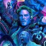 Guardiani della Galassia Vol. 2: sgargianti colori fluo nel nuovo poster IMAX