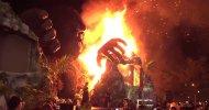 Kong – Skull Island: il gigantesco diorama di King Kong prende fuoco durante la premiere a Saigon!