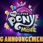My Little Pony: the Movie, ecco il primo teaser e il poster!