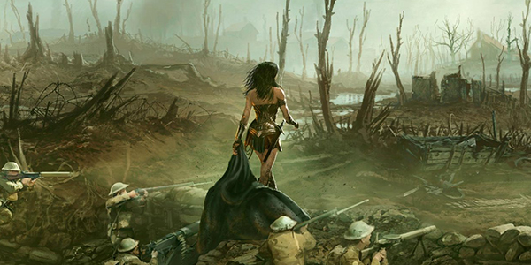 Wonder Woman e le Amazzoni invadono il Comicon