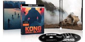 Kong: Skull Island, i dettagli e i packshot delle edizioni home video statunitensi
