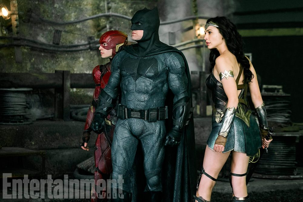 Justice League: Batman, Flash e Wonder Woman in una nuova foto