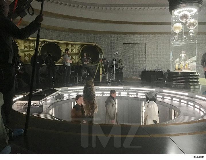 Foto e video dal set di Han Solo, lo spin-off Star Wars