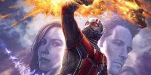 Ant-Man and the Wasp poster comic-con