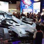 Comic-Con 2017: Justice League, la nuova Batmobile e i giocattoli dello stand Mattel