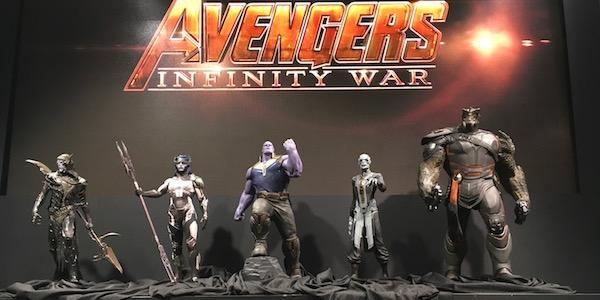 Avengers: Infinity War - Rivelati i figli di Thanos e il Guanto dell'Infinito