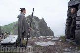 Star Wars: The Last Jedi L to R: Rey (Daisy Ridley) and Luke Skywalker (Mark Hamill)