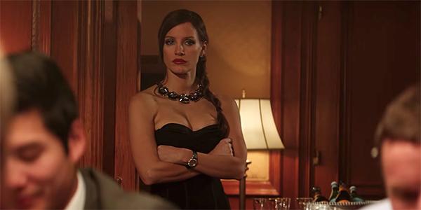 Molly's Game: primo trailer del film di Aaron Sorkin con Jessica Chastain