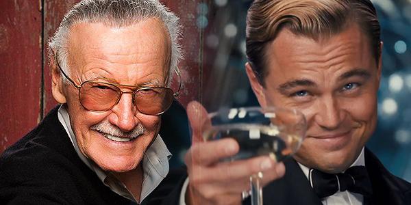 """Leonardo DiCaprio vorrebbe interpretare Stan Lee in un biopic sul guru Marvel"""""""