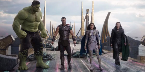 Thor: Ragnarok, la squadra dei