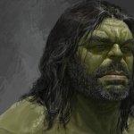 Thor: Ragnarok, Hulk barbuto nei concept alternativi del film