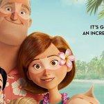 """Gli Incredibili 2: la famiglia Parr con degli """"strani segni"""" di abbronzatura nel nuovo poster"""