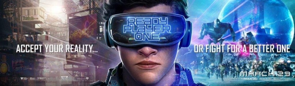 Risultati immagini per ready player one banner