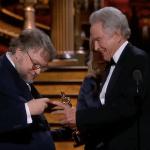 """Oscar 2018: il momento in cui Guillermo del Toro ha fatto il """"double check"""" della vittoria per il Miglior Film"""