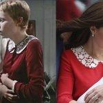 Kate Middleton e il curioso outfit che crea un parallelismo con Rosemary's Baby