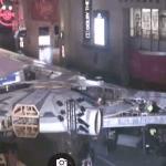 Solo: a Star Wars Story, ecco il gigantesco Millennium Falcon allestito per il red carpet a Los Angeles