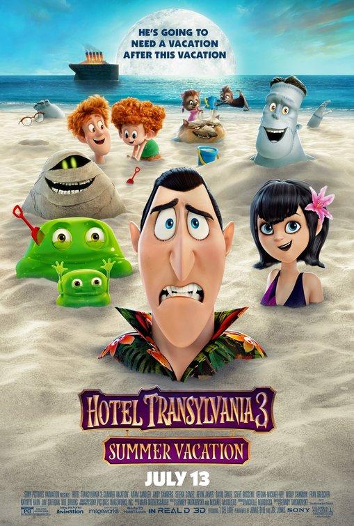 Hotel transylvania i protagonisti del film animato in