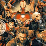 Avengers: Endgame, il nuovo logotitolo dal color viola Thanos
