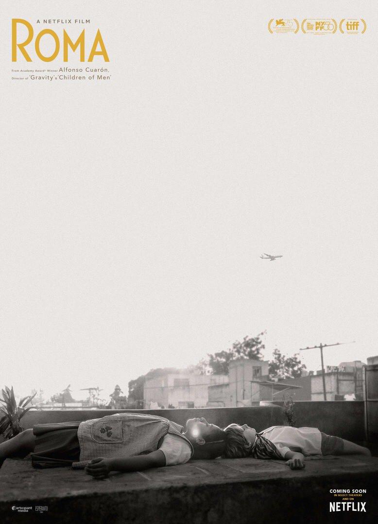 Risultati immagini per roma cuaron poster